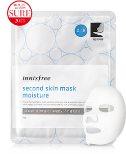 Innisfree second skin mask moisture