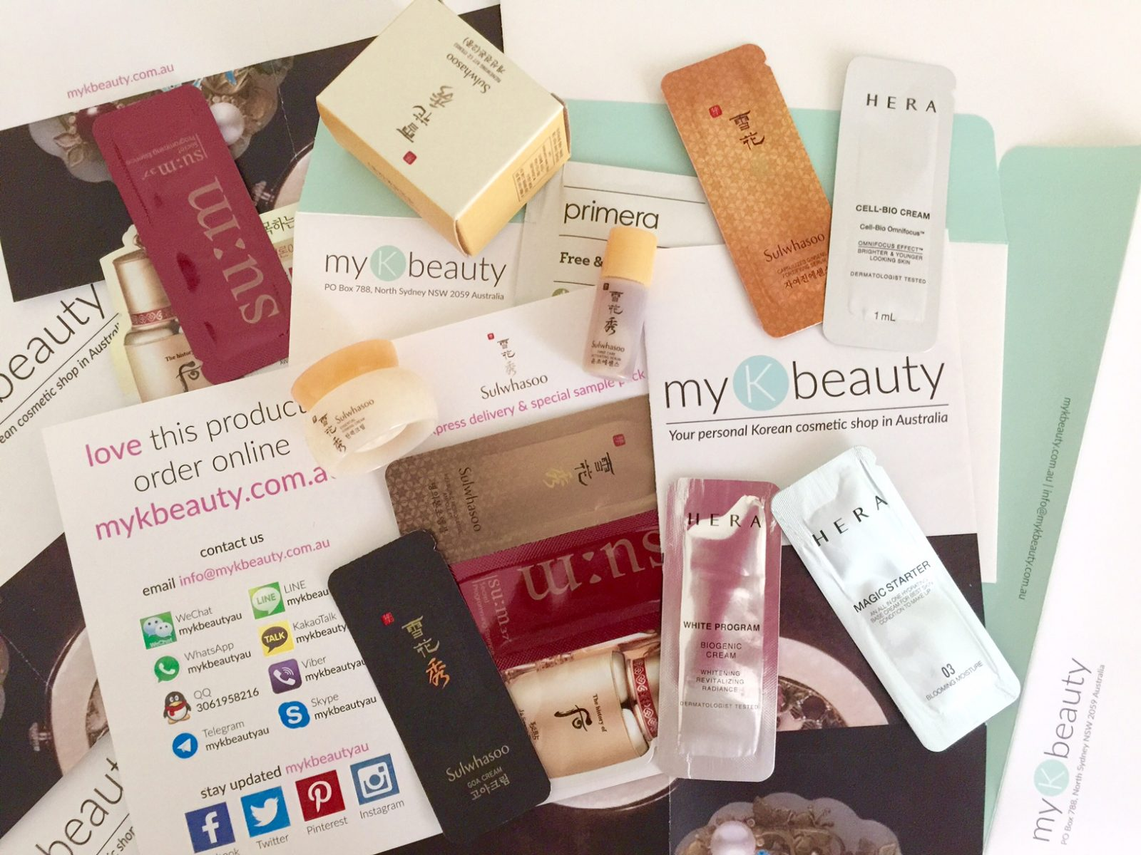 25 free makeup samples to get by mail.