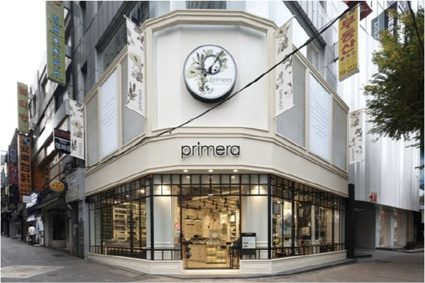 Primera store in Seoul Korea MyKBeauty Korean cosmetic shop in Australia