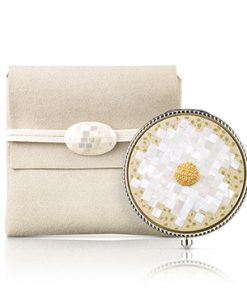 ShineClassic Powder Compact_mother-of-pearl craft_1 MyKBeauty Korean Cosmetics