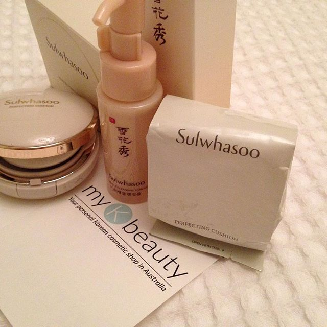 Sulwhasoo cushion free cleansing foam_MyKBeauty